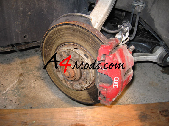 B6 Audi A4 - S4 Brake Upgrade Front Replacement