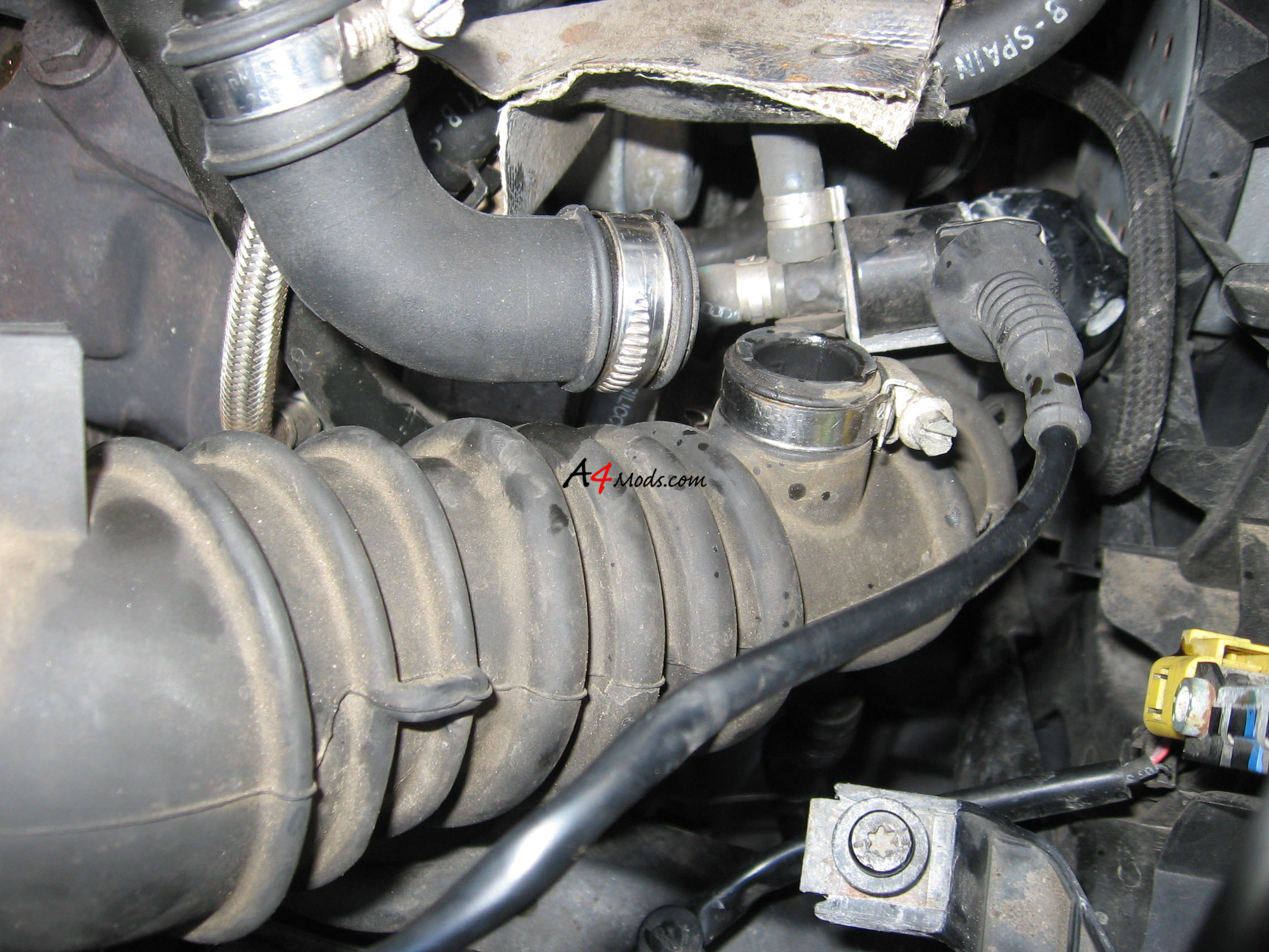pcv valve location 1997 honda civic