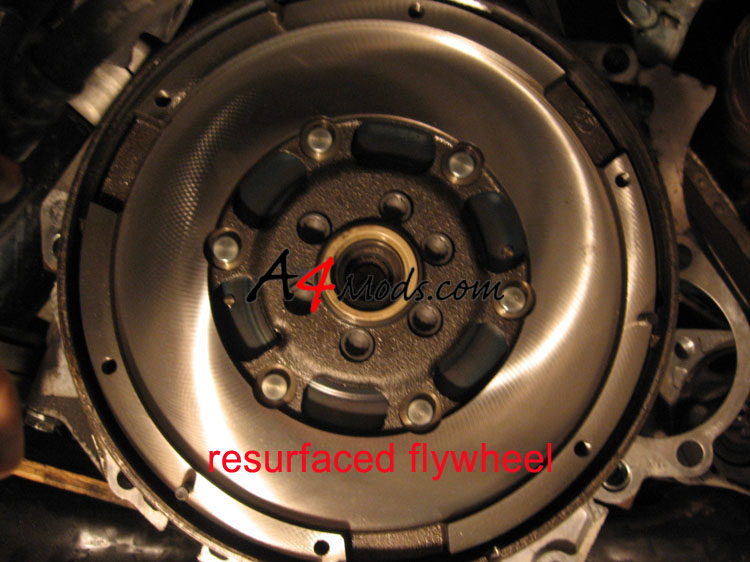B6 Audi A4 - Clutch Install Flywheel