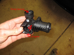 Audi A4 Rear Coolant Flange Replacement
